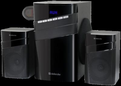 НОВИНКА. Акустическая 2.1 система X400 40Вт, Bluetooth, FM/MP3/SD/USB