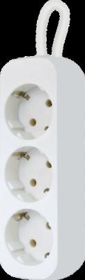 НОВИНКА. Удлинитель с заземлением E318 1.8 м, 3 розетки