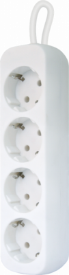 НОВИНКА. Удлинитель с заземлением E450 5.0 м, 4 розетки