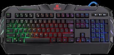 Проводная игровая клавиатура Defender Werewolf GK-120DL RU,RGB подсветка,19 Anti-Ghost