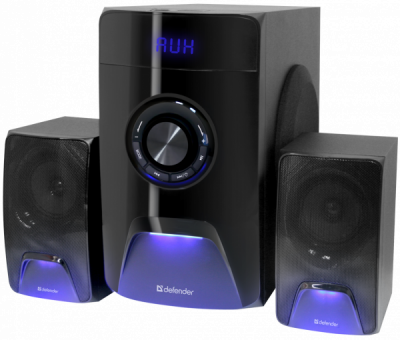 НОВИНКА. Акустическая 2.1 система X500 50Вт, Bluetooth, FM/MP3/SD/USB