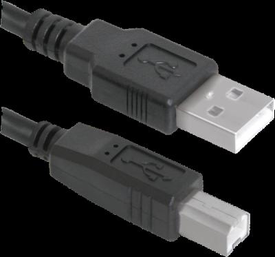 USB кабель USB04-06 USB2.0 AM-BM, 1.8м