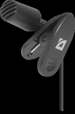 НОВИНКА. Микрофон компьютерный MIC-109 черный, на прищепке, 1,8 м