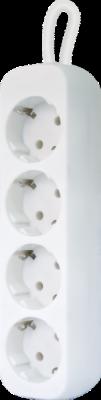 НОВИНКА. Удлинитель с заземлением E418 1.8 м, 4 розетки