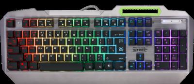 Проводная игровая клавиатура Defender Stainless steel GK-150DL RU,RGB подсветка, 9 режимов