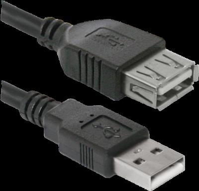 НОВИНКА. USB кабель USB02-17 USB2.0 AM-AF, 5.0м