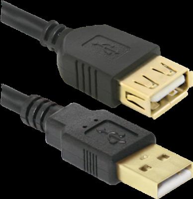 USB кабель Defender USB02-17PRO USB2.0 AM-AF, 5.0м